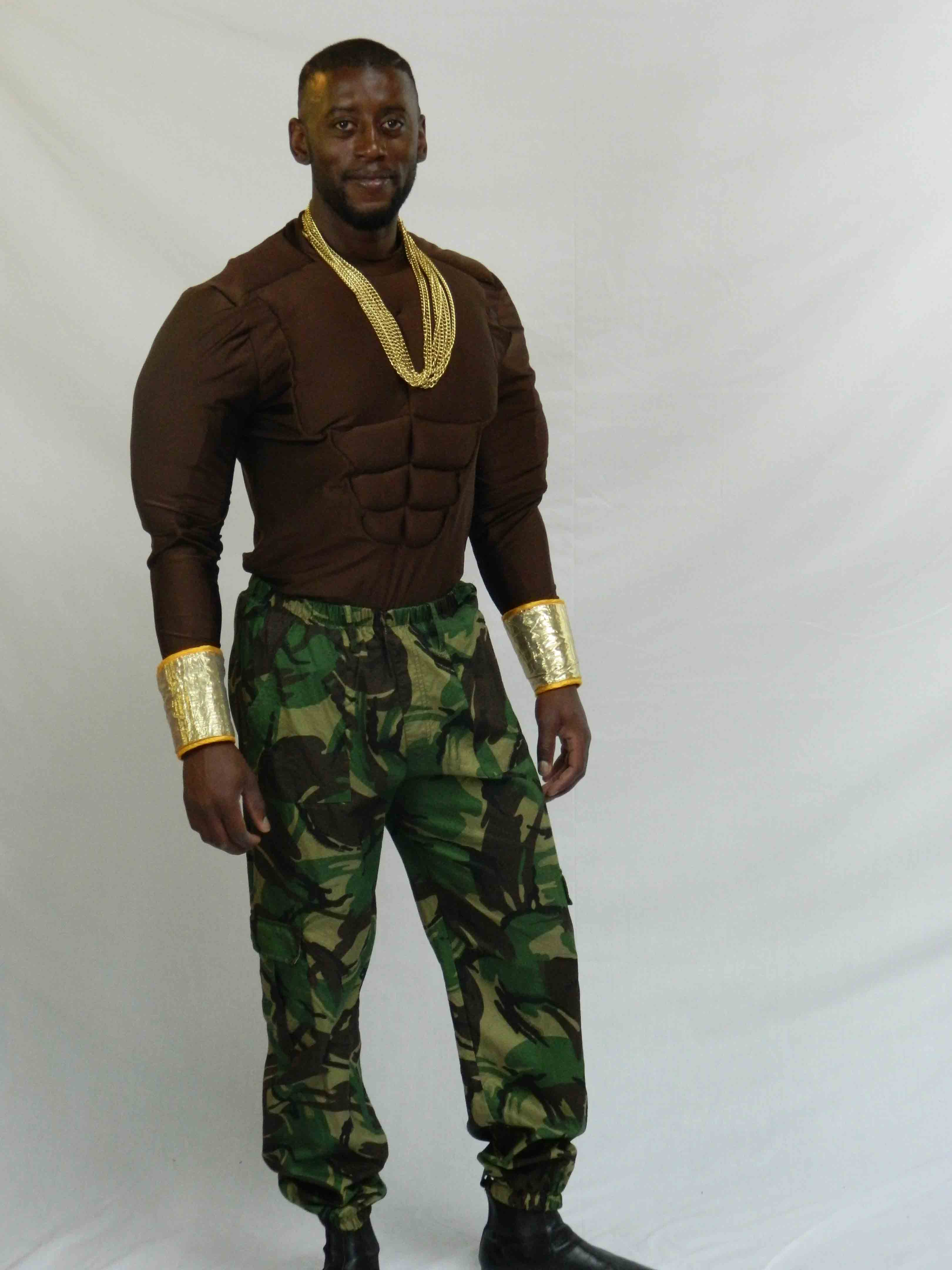 Mr T, A Team costume hire