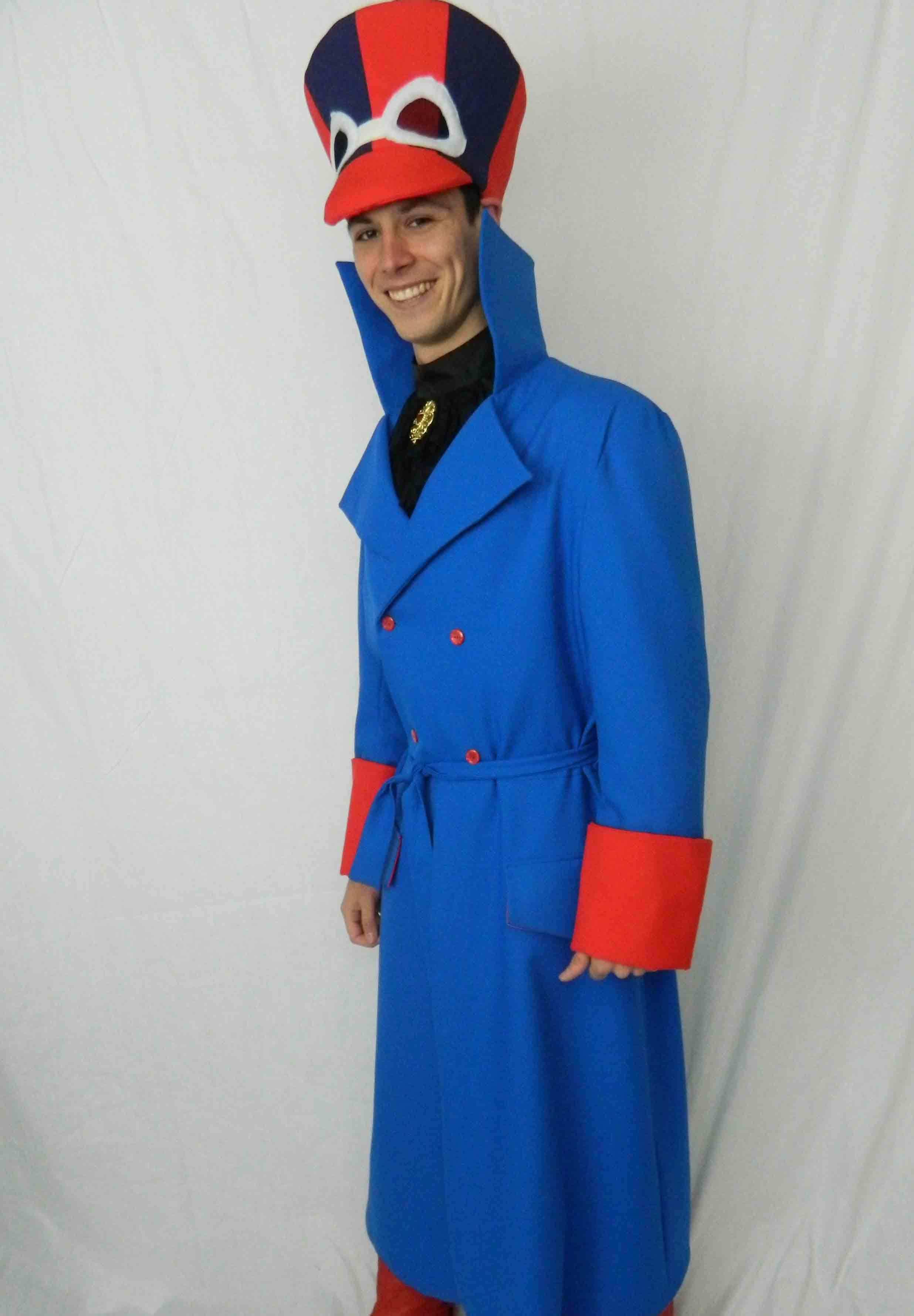 Dick Dastardly deluxe costume hire