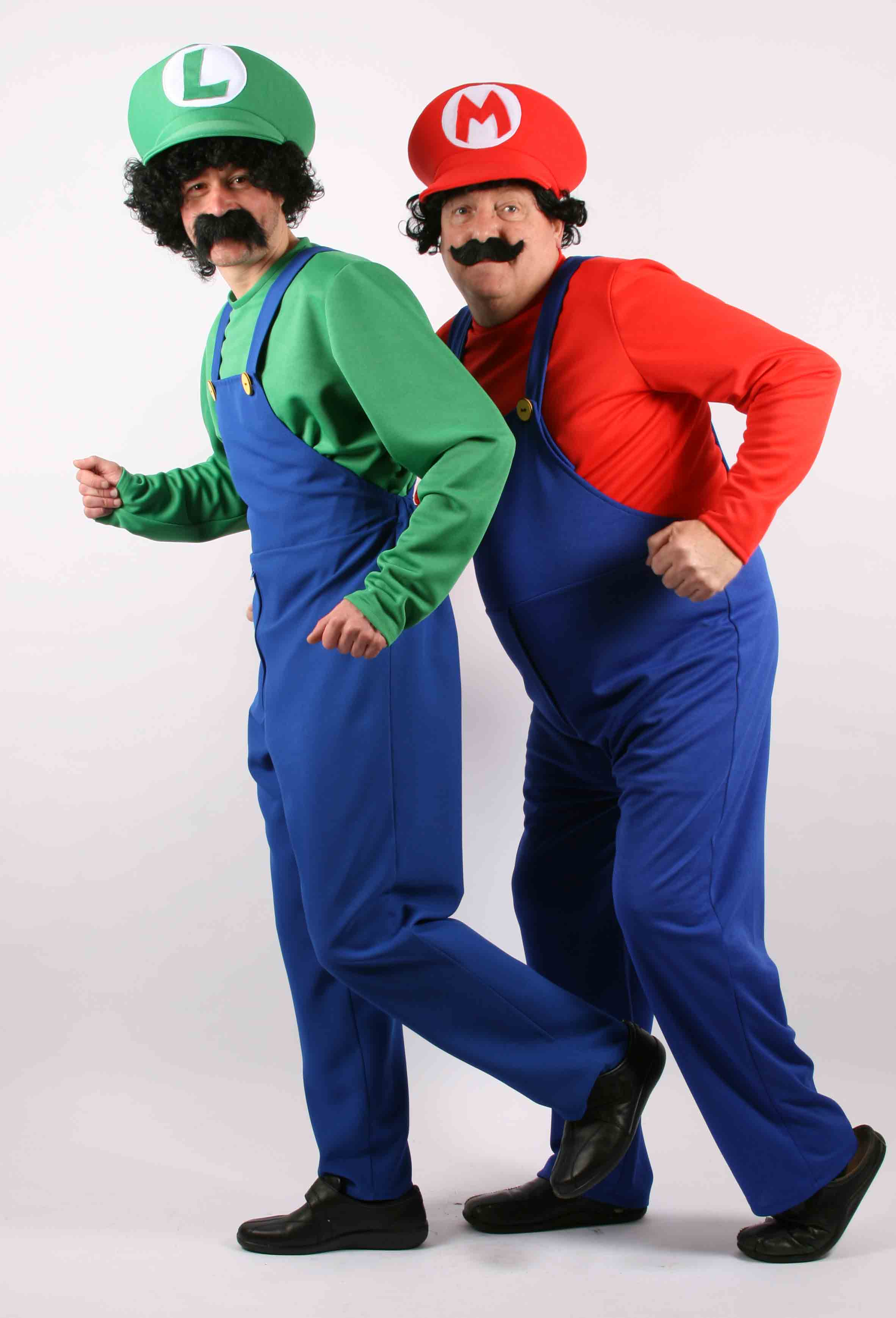 Super Mario Brothers fancy dress hire