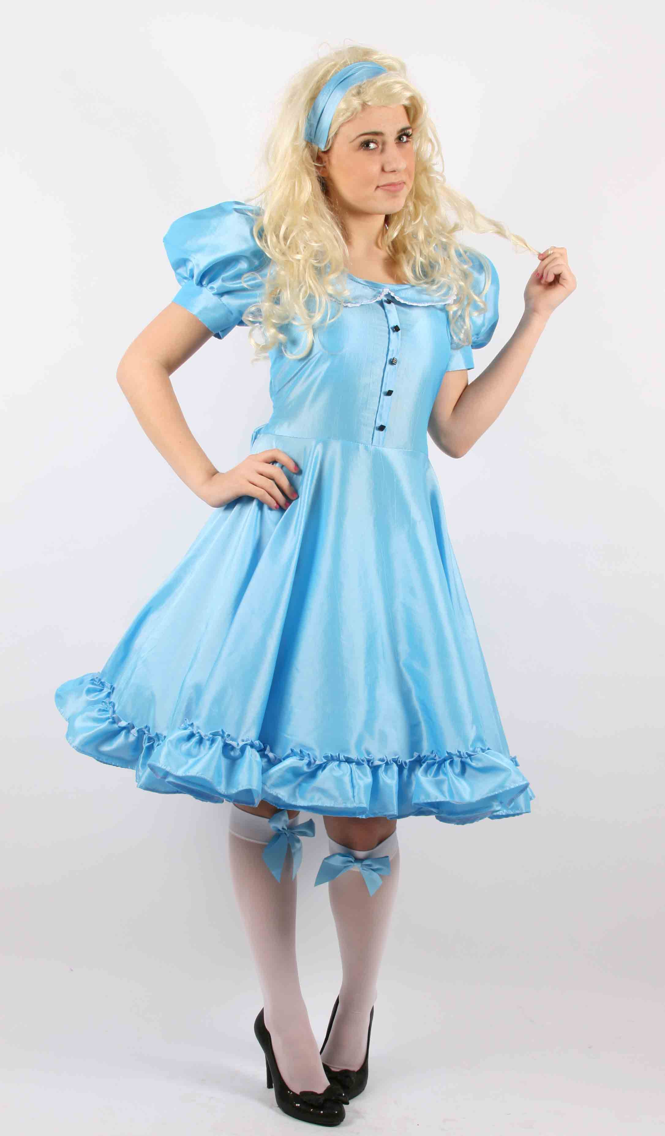 Alice in Wonderland - New  sc 1 st  Molly Limpetu0027s & Quality fancy dress costumes for hire film themed fancy dress ...
