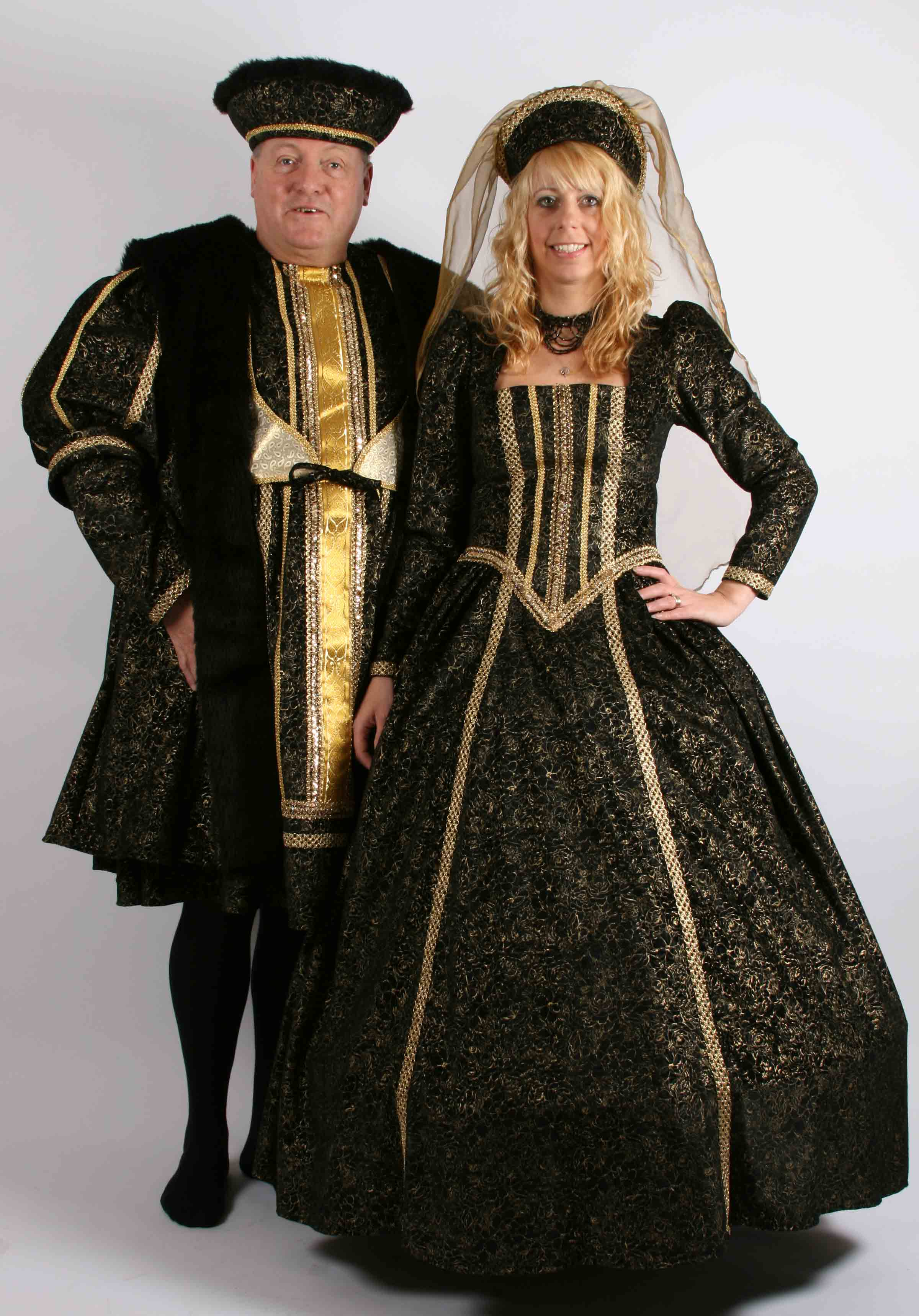 Henry & Wife - Black & Gold