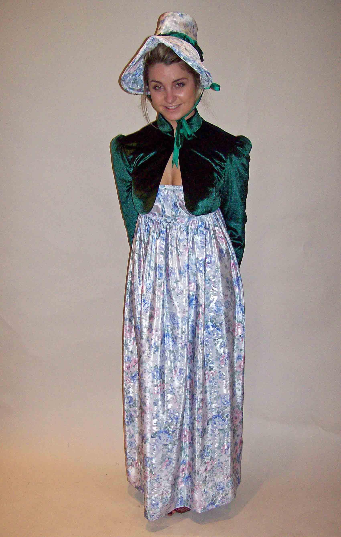 Jane Austen   FloralRegency Period Costume Hire for Regency Events across the UK and  . Halloween Costumes Bath Uk. Home Design Ideas