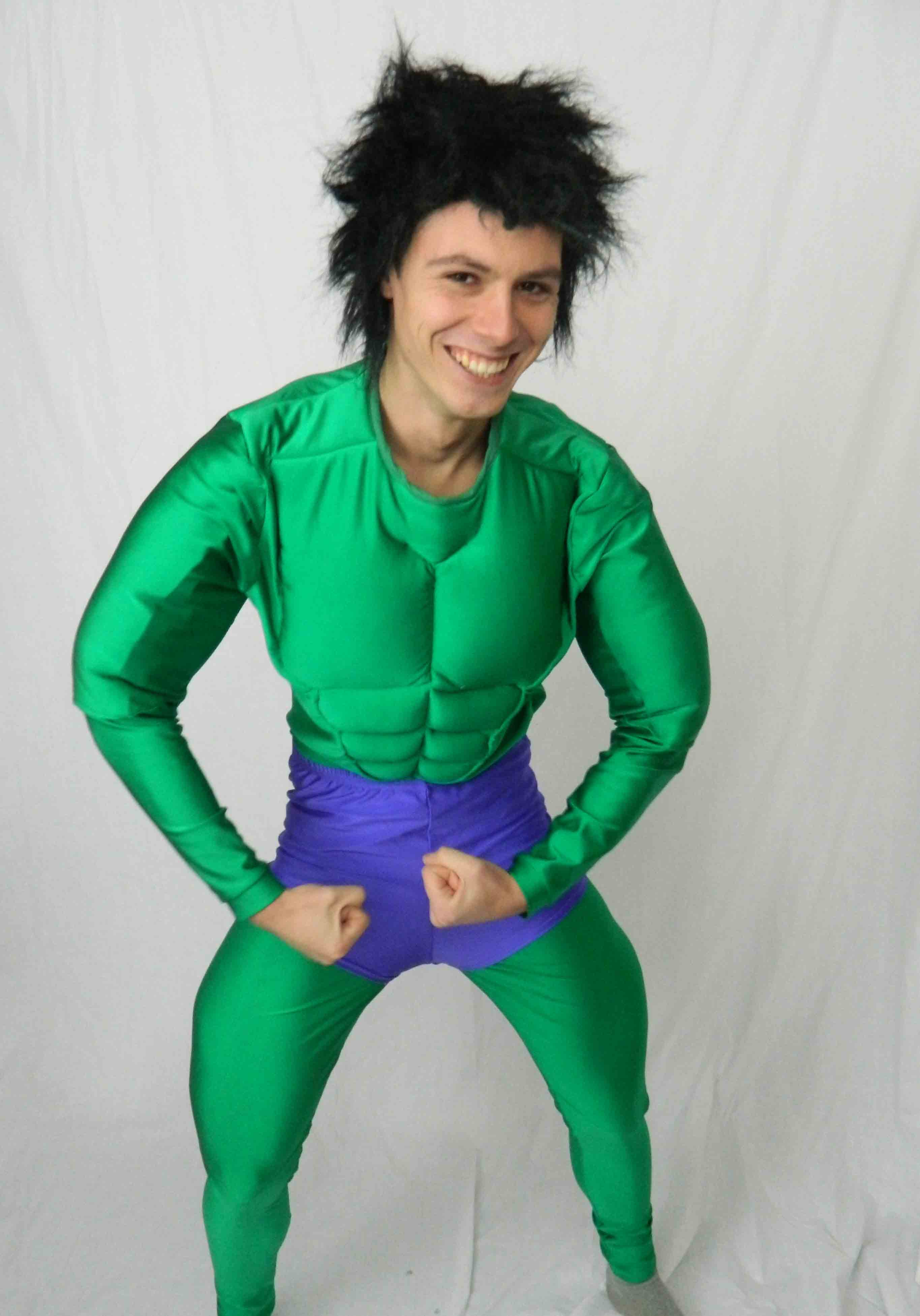 Incredible Hulk  sc 1 st  Molly Limpetu0027s & Quality Superhero fancy dress costumes for hire