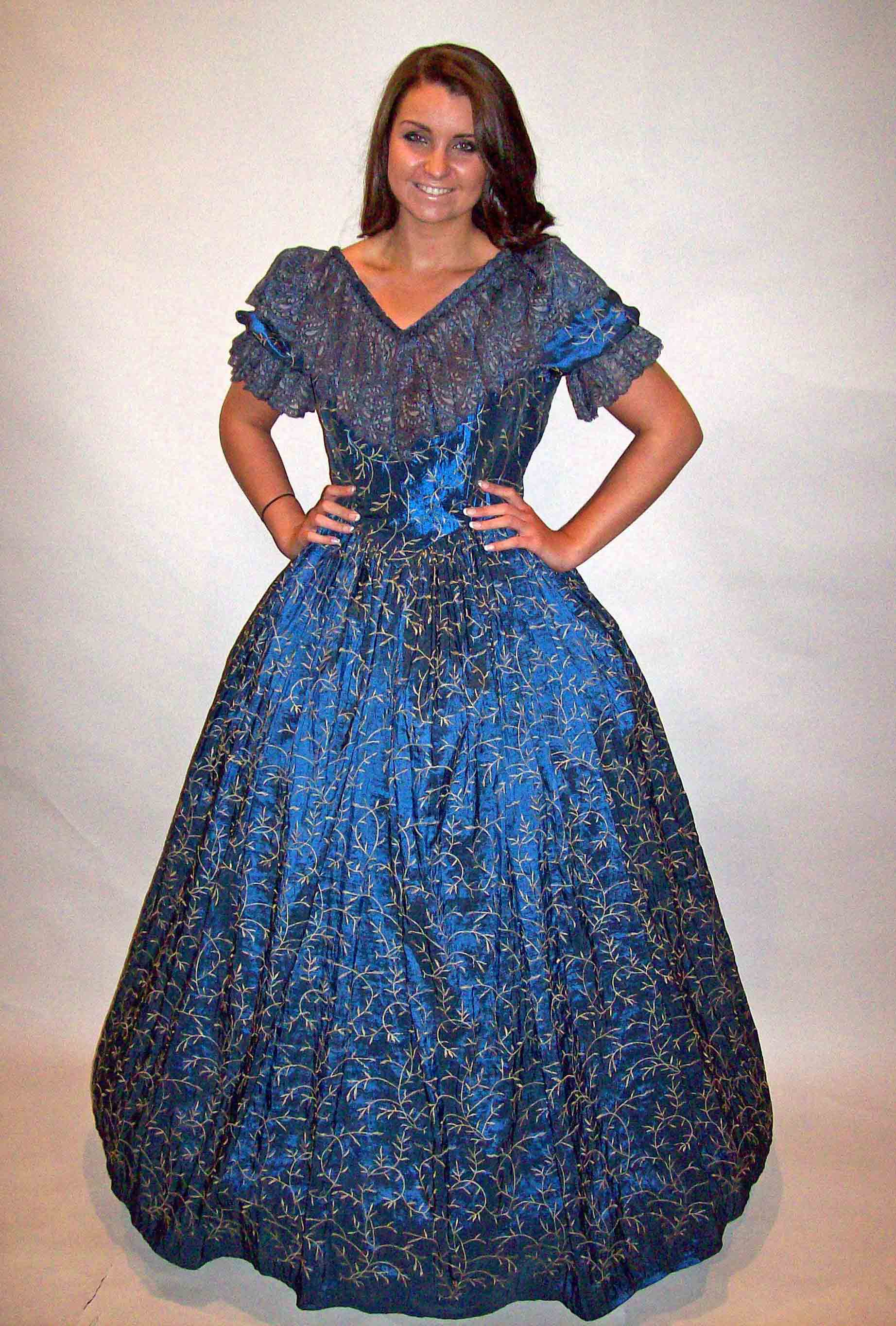 Bespoke theatrical quality Victorian and Edwardian fancy dress ...