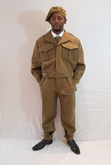 deluxe 1940s army costumes