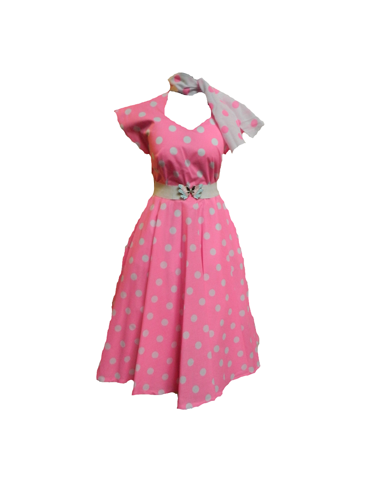 cotton 50s dress hire