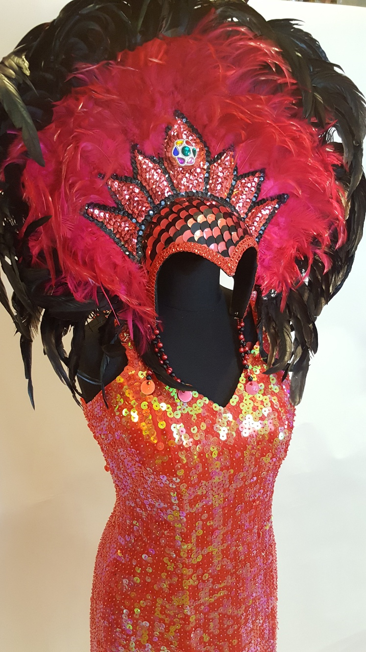 deluxe sequin showgirl costumes