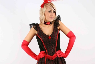 moulin rouge fancy dress hire