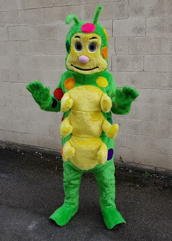caterpillar deluxe costume for hire