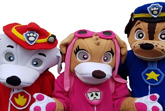 mascots and character costume hire