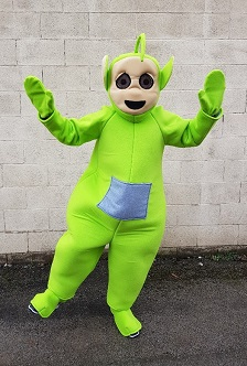 dipsy teletubby party costume