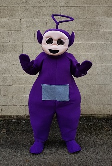 tinky winky costume hire
