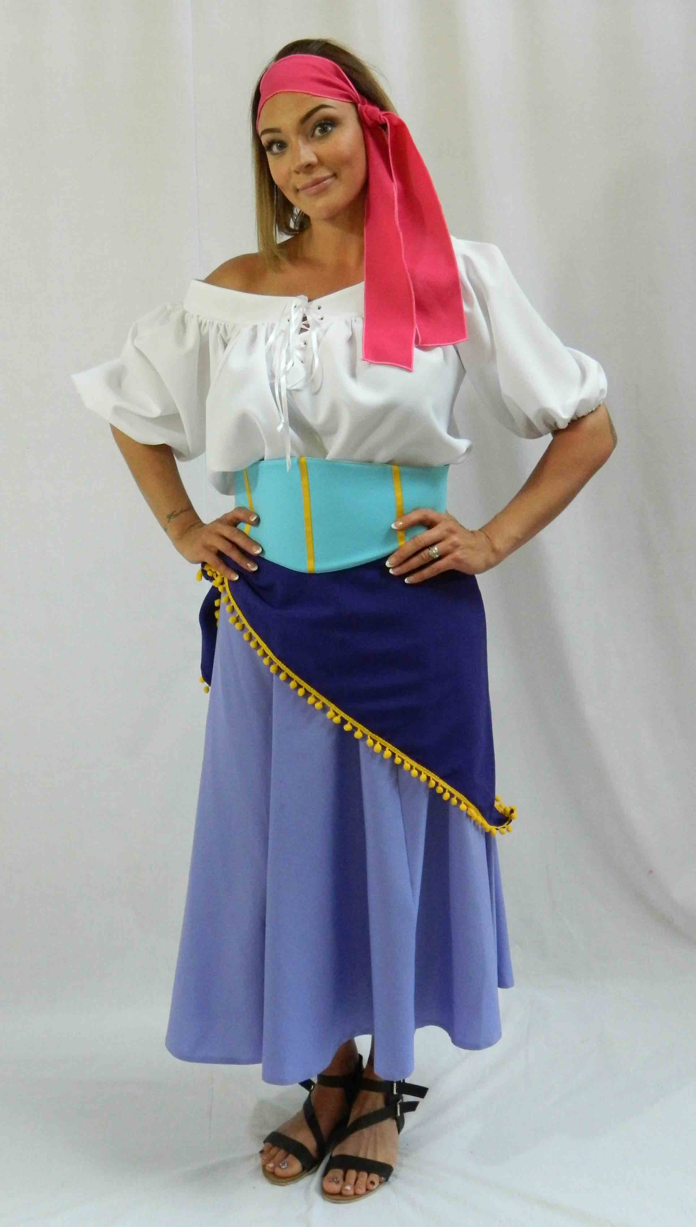 Greatest Showman Fancy Dress · Deluxe Greatest Showman Costume · Esmerelda