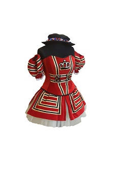 beefeater ladies costume hire