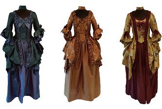 theatrical 18th century costume hire
