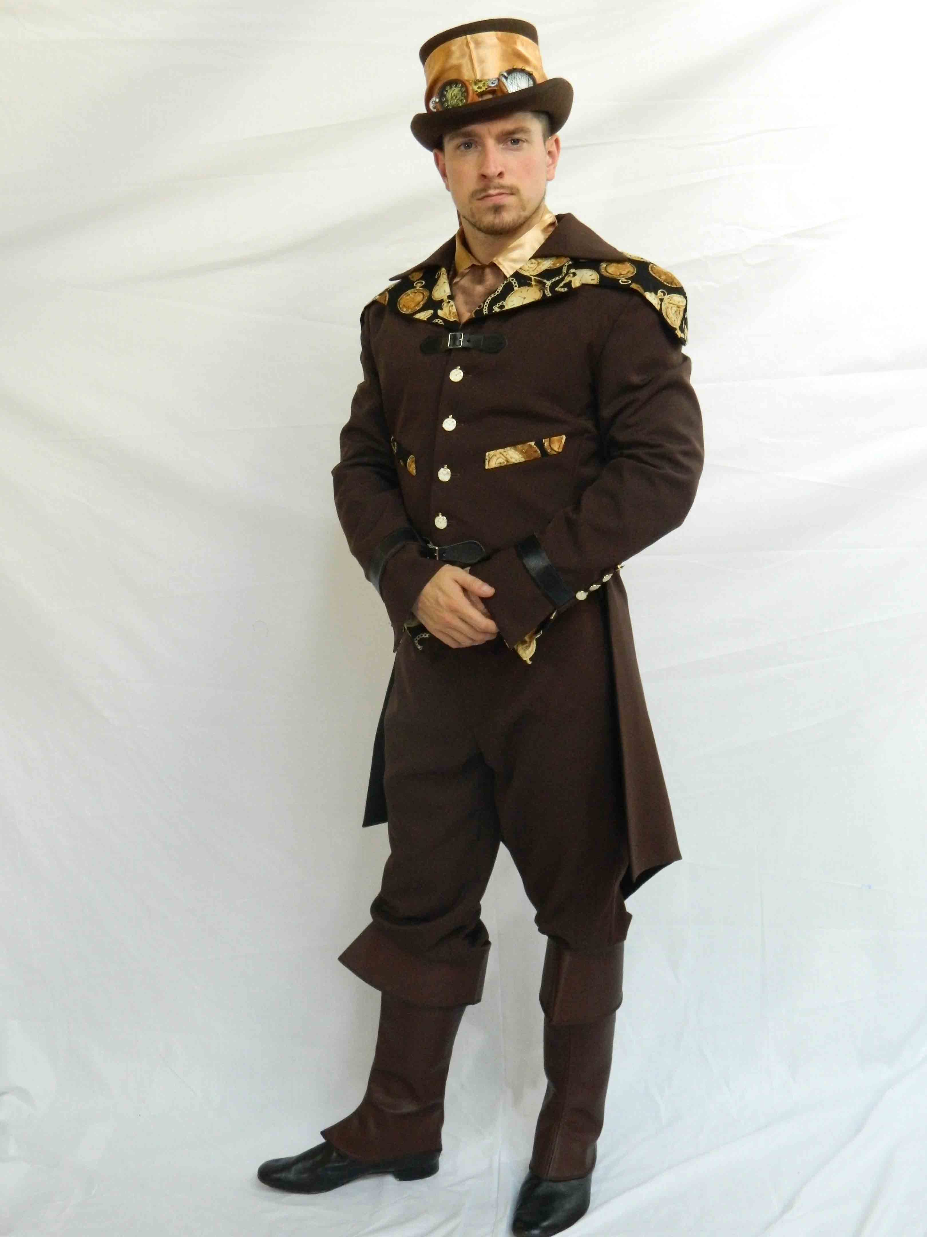 Steampunk Deluxe Costume Hire