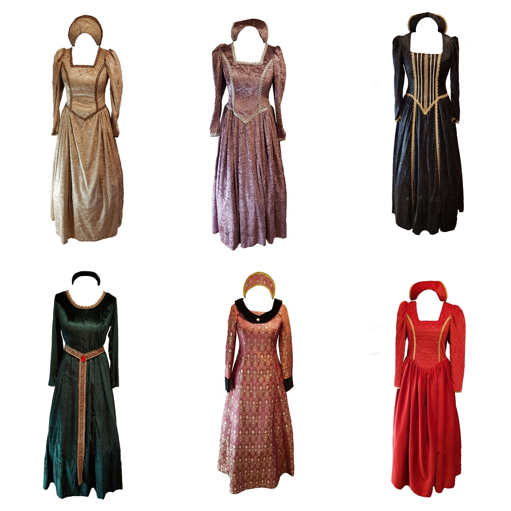 deluxe historical fancy dress costumes
