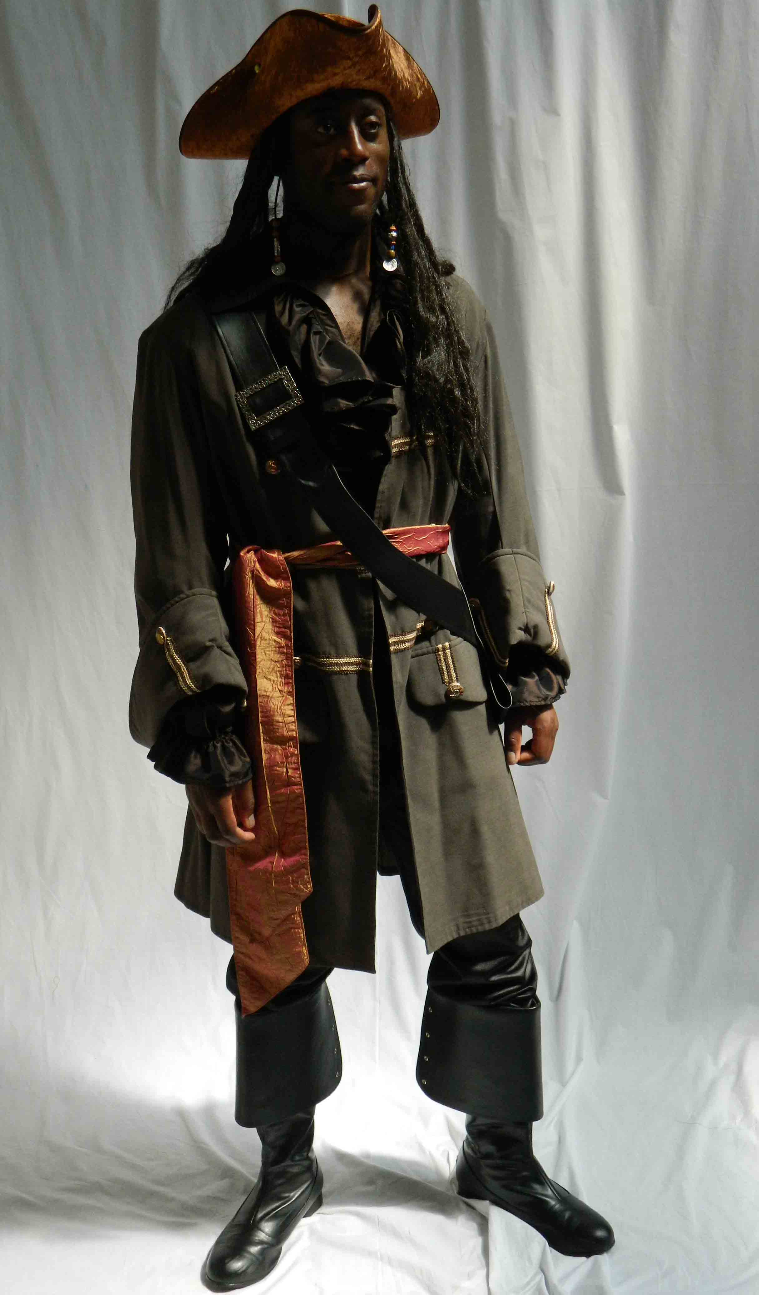 Jack Sparrow Deluxe Brown JSD-012