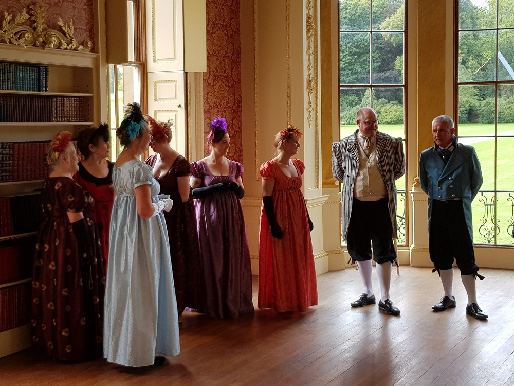 regency ball at wentworth woodhouse