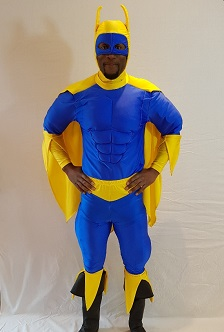 deluxe bananaman fancy dress