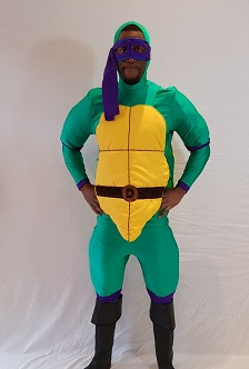 donatello the turtle costume hire