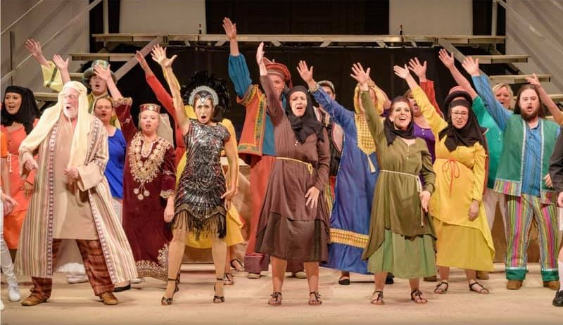 Costumes for Joseph & the Amazing Technicolor Dreamcoat