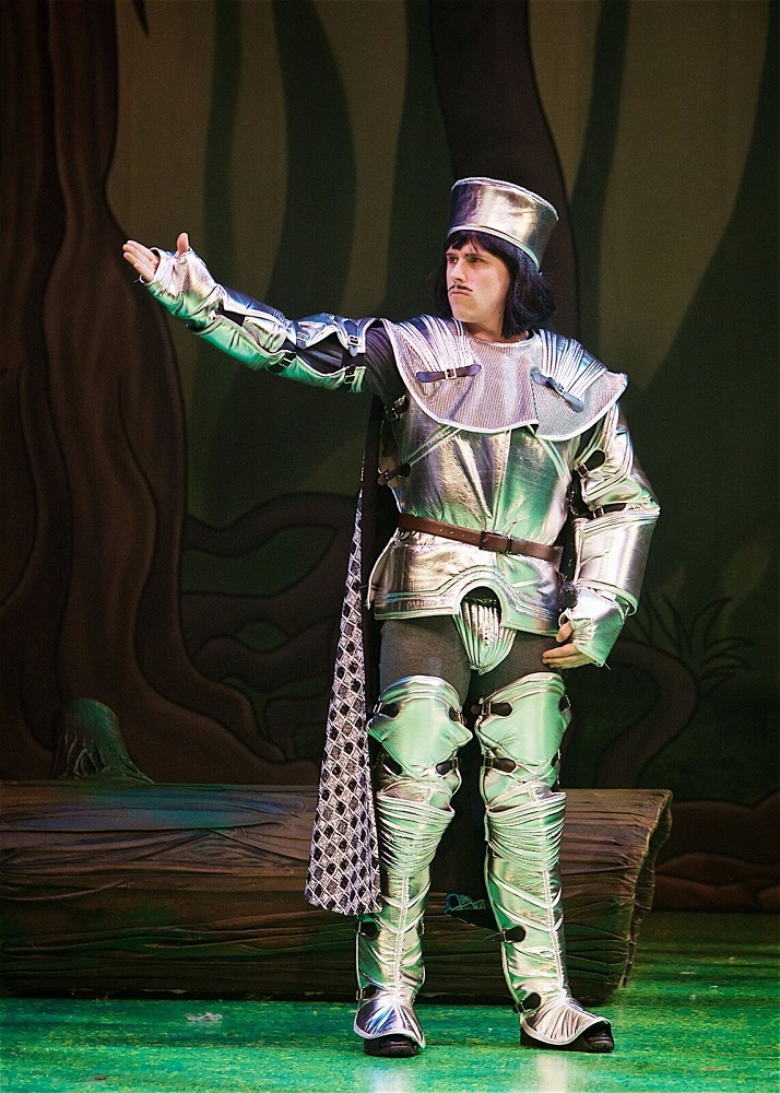 lord farquaad's guard captain costume