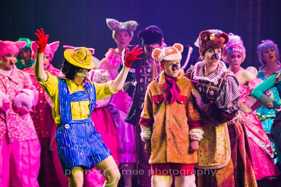 three bears costumes shrek the musical
