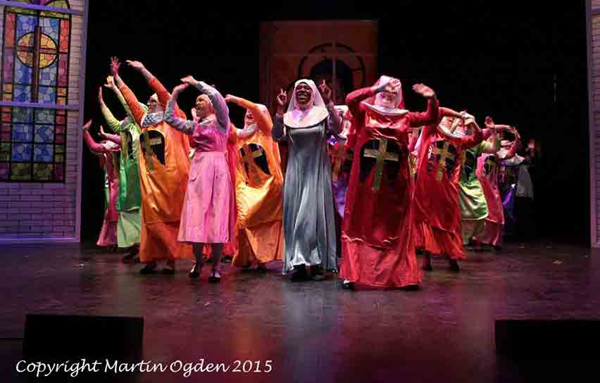 sister act the musical theatrical costumes for hire for uk