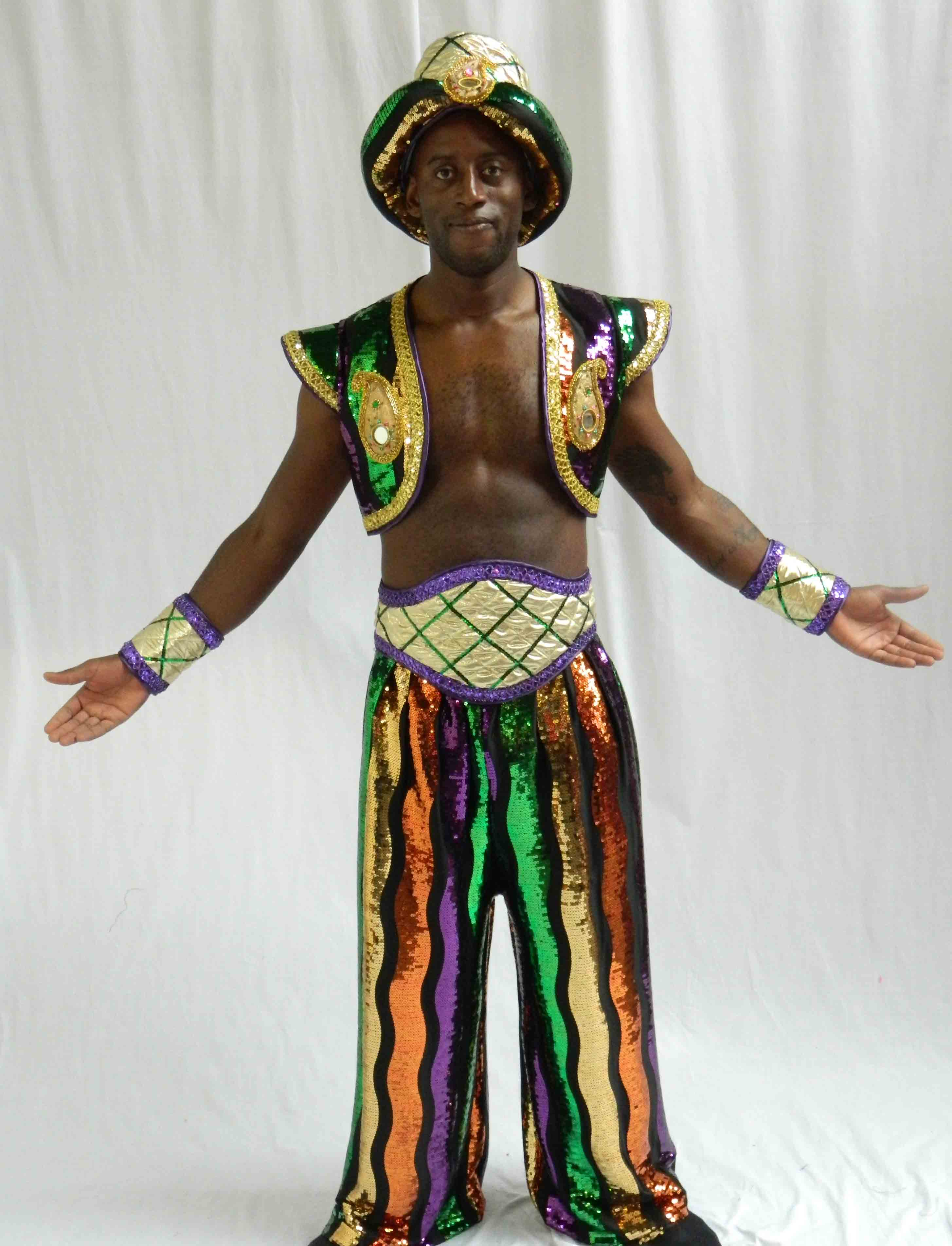 Aladdin Costume Hire 16 - Aladdin Rich