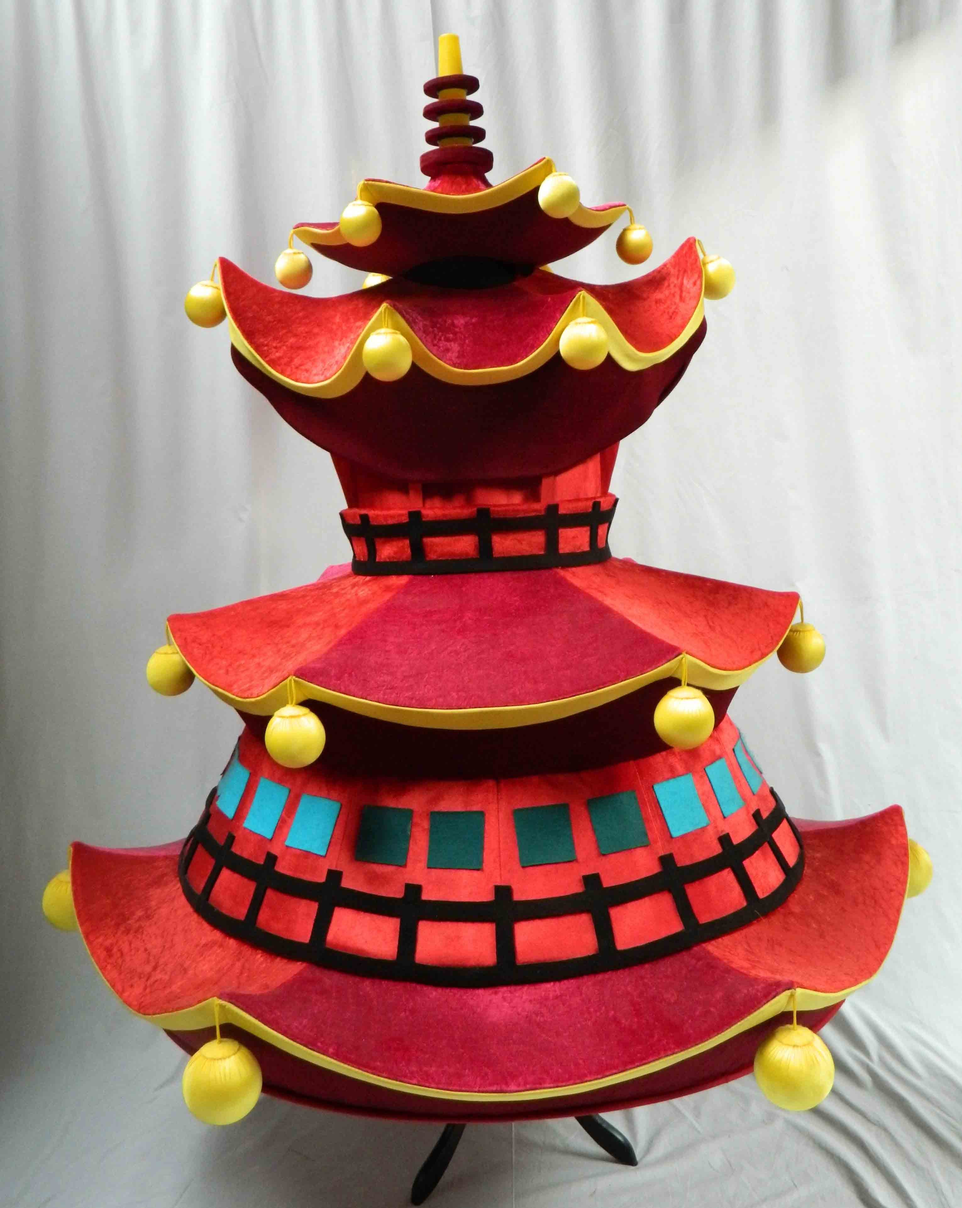 Aladdin Costume Hire 03 - Red Pagoda