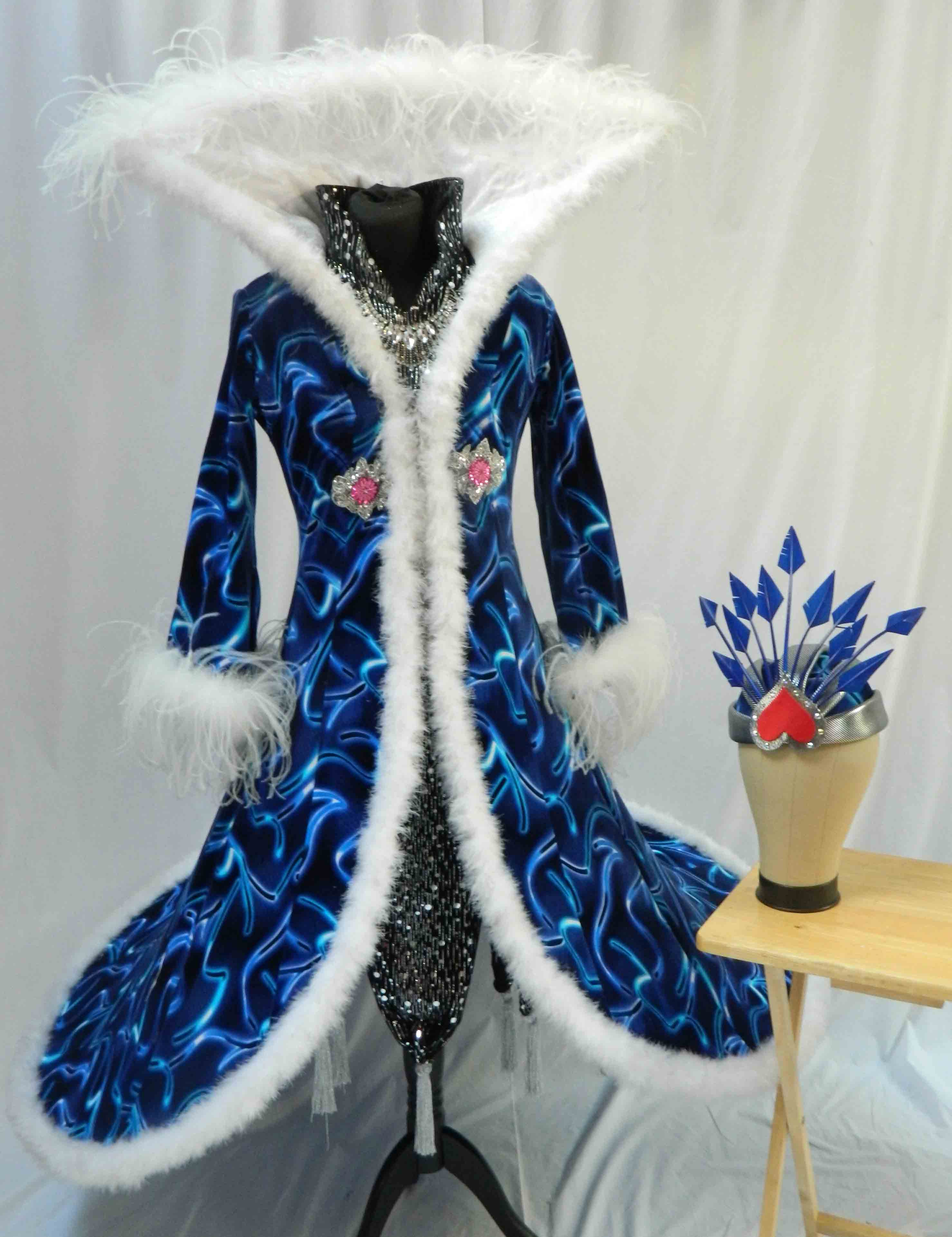 Aladdin Costume Hire 05 - Empress Blue