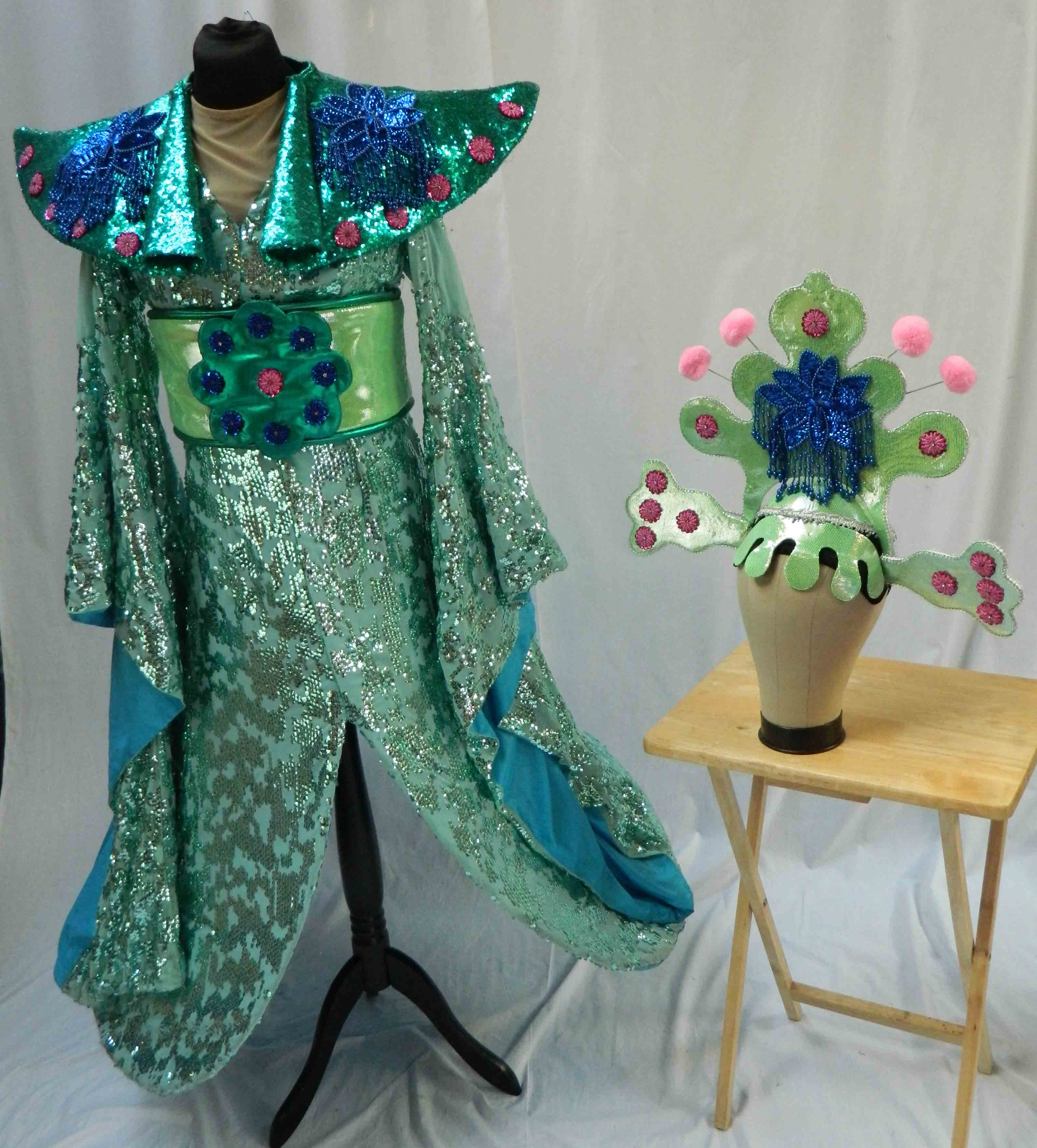 Aladdin Costume Hire 08 - Empress Green