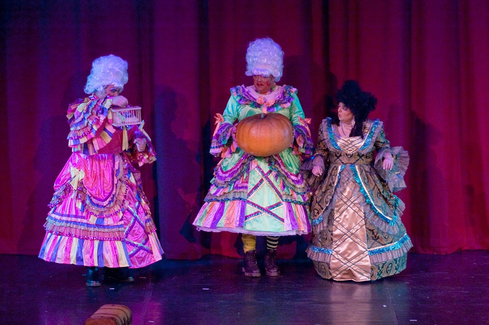 Ugly Sisters, complemented by Wicked Stepmother