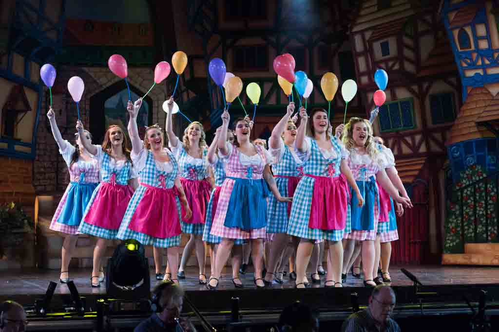 gingham panto villager costumes