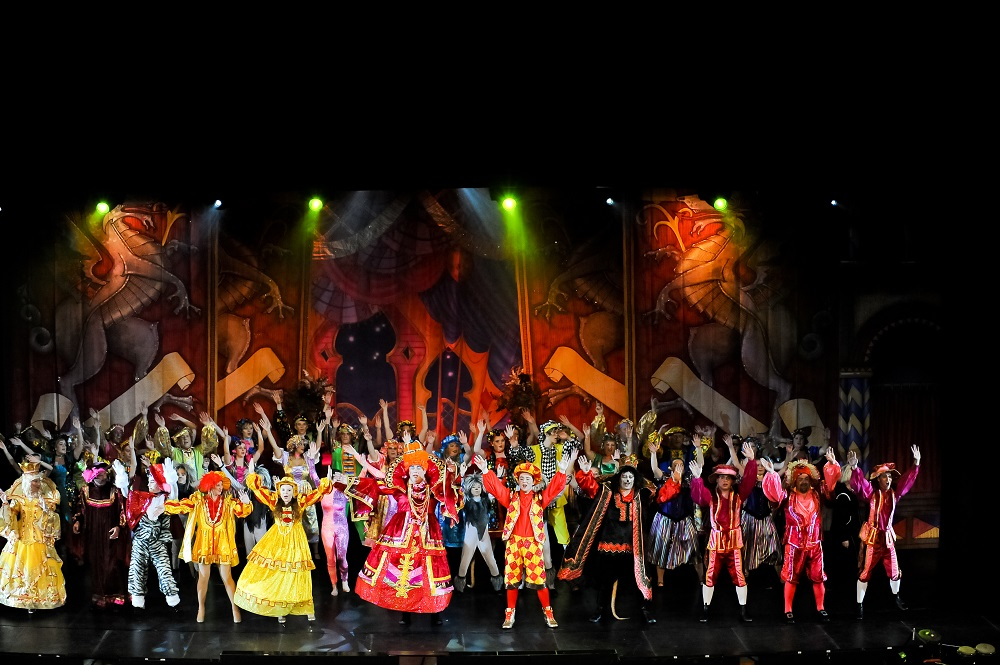 costumes by molly limpet's for panto