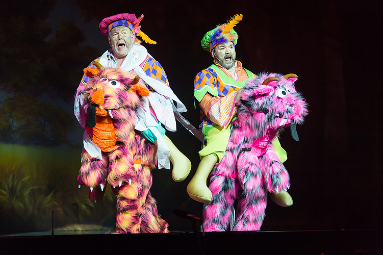 ride-on style pantomime costumes