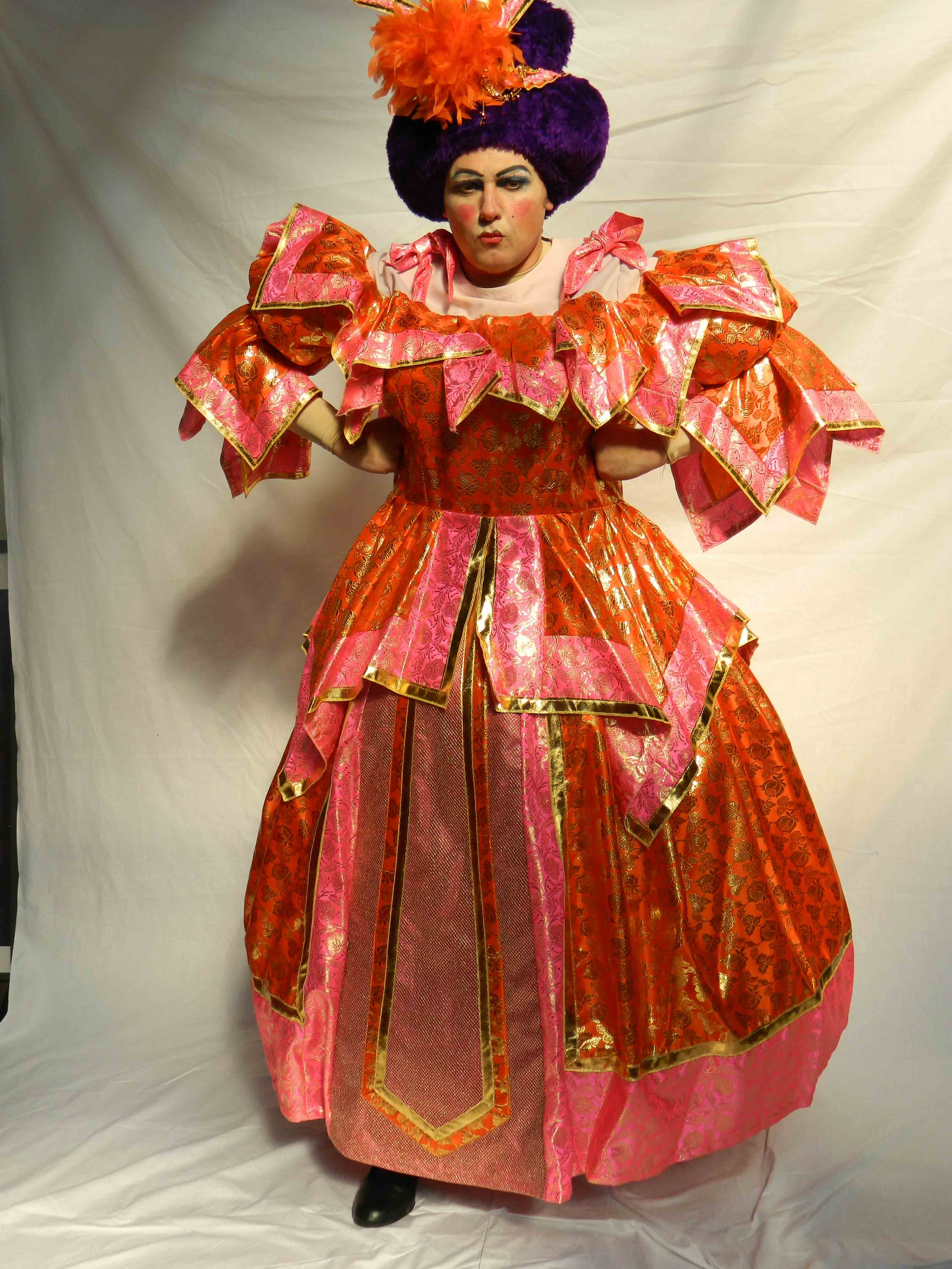 Panto Dame - Pink Sunrise Ball