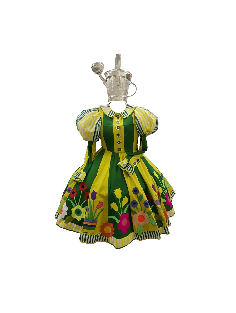 gardening themed panto dame costume
