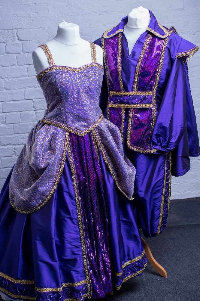 purple panto prince costume