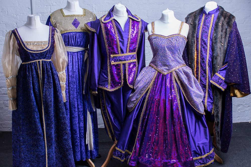 costume design company for professional pantomime