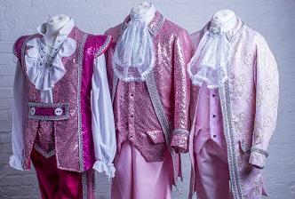 uk productions pink panto costumes