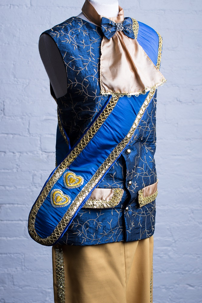 prussian blue panto costumes