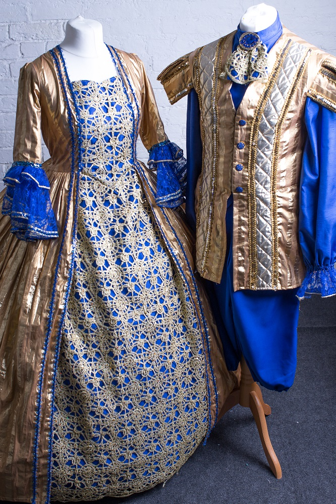 Prussian blue panto designs