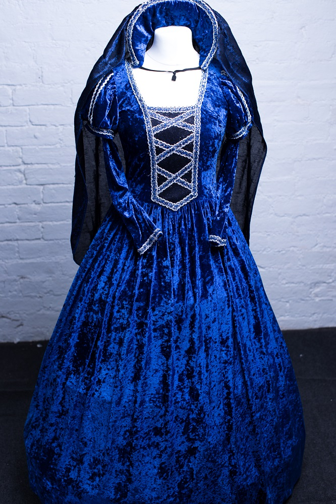 royal blue panto costumes