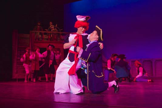 Anything Goes-style sailor panto dame