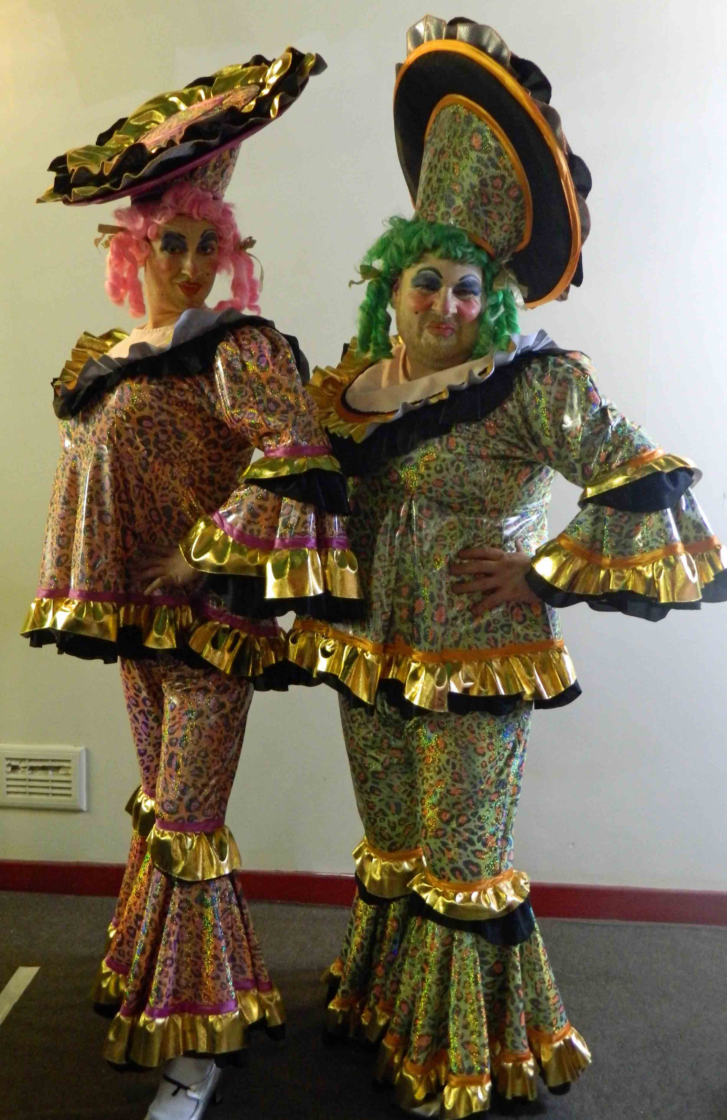 Ugly Sister Pantomime Dame Costumes For Hire Uk