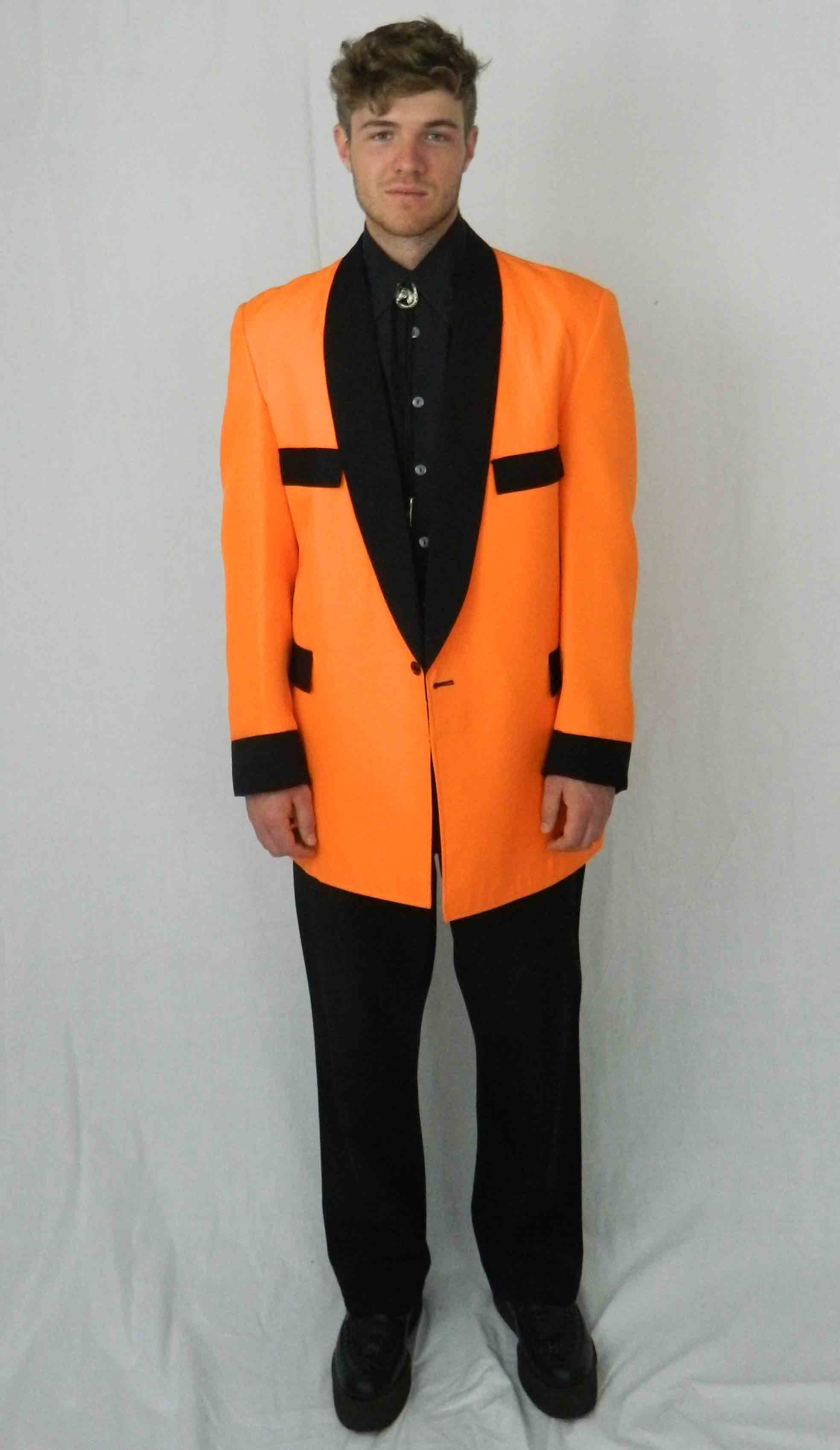 Teddy Boy Orange
