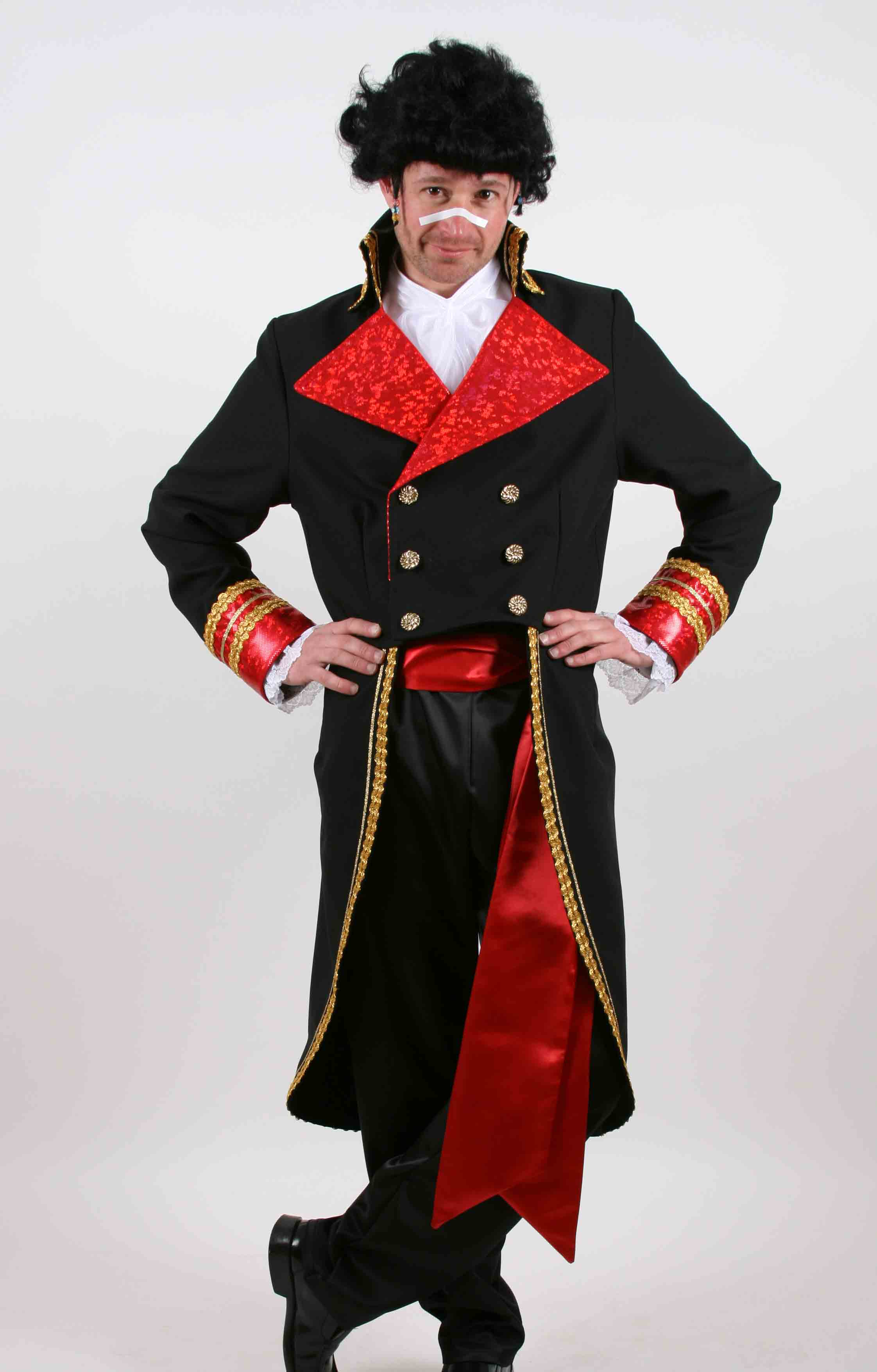 Prince Charming Adam Ant costume