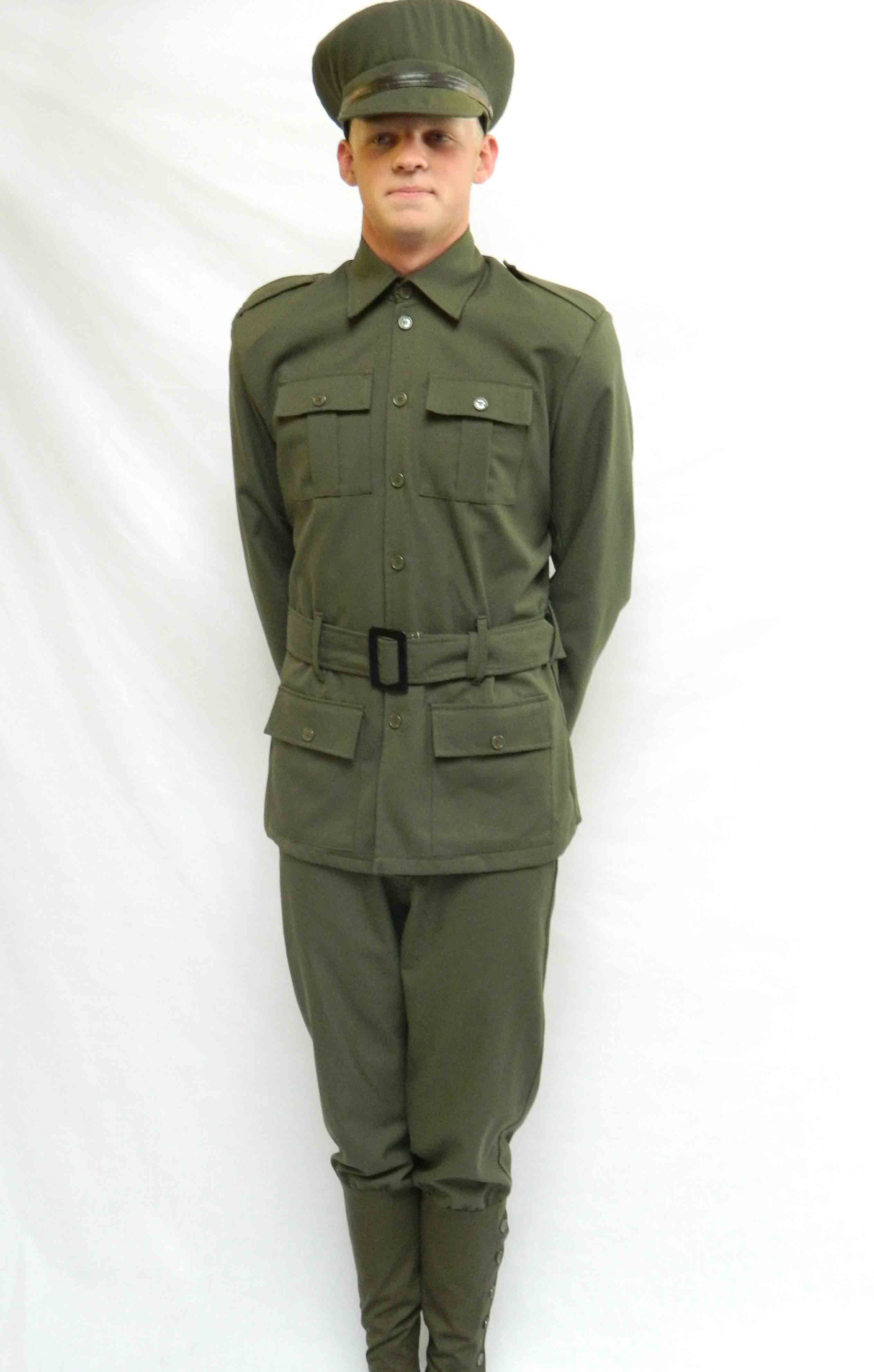 World War One Soldier's costume for hire